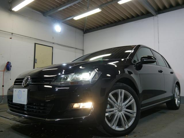 フォルクスワーゲン VW ゴルフ ミラノエディション 新車保証 限定車 コンビ革 スマートキー