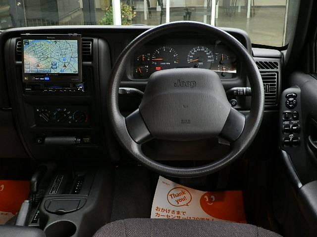 クライスラー・ジープ クライスラージープ チェロキー スポーツHDDナビETCメッキGブラックAW最終モデル整備付