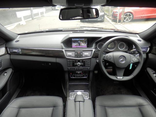 E550アバンギャルド AMGスポーツPKG 黒革 1年保証(14枚目)