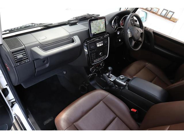 G350d ラグジュアリーPKG 最終モデル サンルーフ ブラウンレザー harman/kardon シートヒーター 8インチスマホ連動ナビ(12枚目)