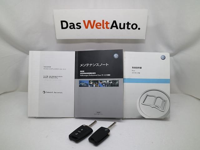 フォルクスワーゲン VW ポロ TSI Comfortline Upgrade Package Navi ETC BC