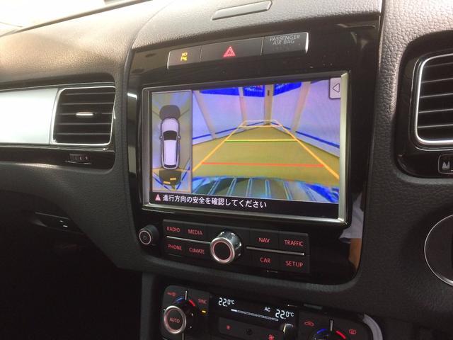 フォルクスワーゲン VW トゥアレグ V6 ブルーモーションテクノロジー純正ナビ全方位カメラ