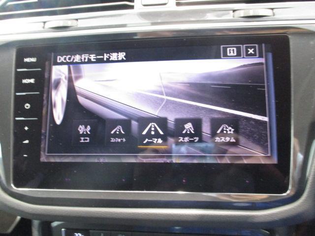 """アダプティブシャシーコントロール""""DCC""""が付いています。さまざまな走行状況に合わせてドライバーの意志に応える自在な走りを提供します。"""