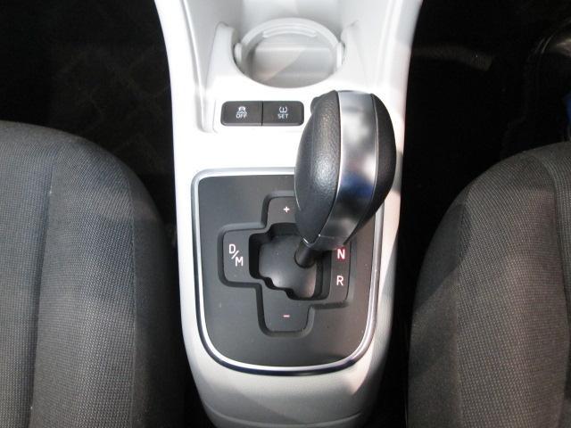 5速ASGトランスミッション搭載。マニュアルモードでは小気味よいシフトフィールによるドライブを楽しめます。