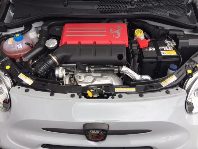 アバルト アバルト アバルト595 コンペティツィオーネ管理試乗車 新車保証継承