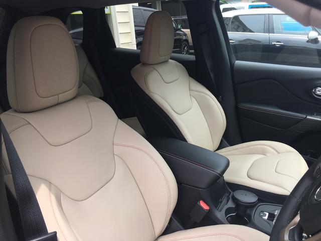 クライスラー・ジープ クライスラージープ チェロキー 75th Anniversary限定車 新車保証継承