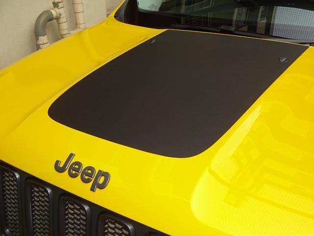 クライスラー・ジープ クライスラージープ レネゲード トレイルホーク 元弊社デモカー