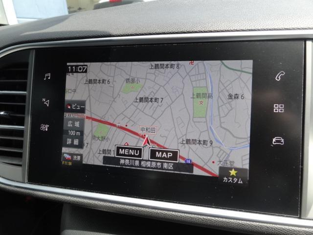 GTライン ブルーHDi 純正ナビゲーション バックカメラ(7枚目)