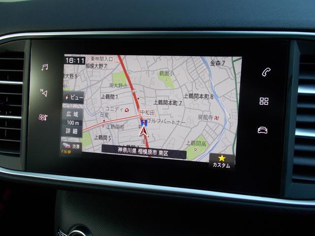 SW GT ブルーHDi 純正ナビ・ETC・ドライブレコーダー装着 アクティブクルーズコントロール パークアシスト レッドステッチ・テップレザー/アルカンタラスポーツシート・インテリア・ステアリング 新車保証継承(4枚目)