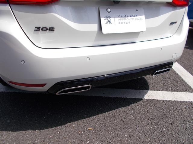 SW GT ブルーHDi 純正ナビ・ETC・ドライブレコーダー装着 アクティブクルーズコントロール パークアシスト レッドステッチ・テップレザー/アルカンタラスポーツシート・インテリア・ステアリング 新車保証継承(14枚目)