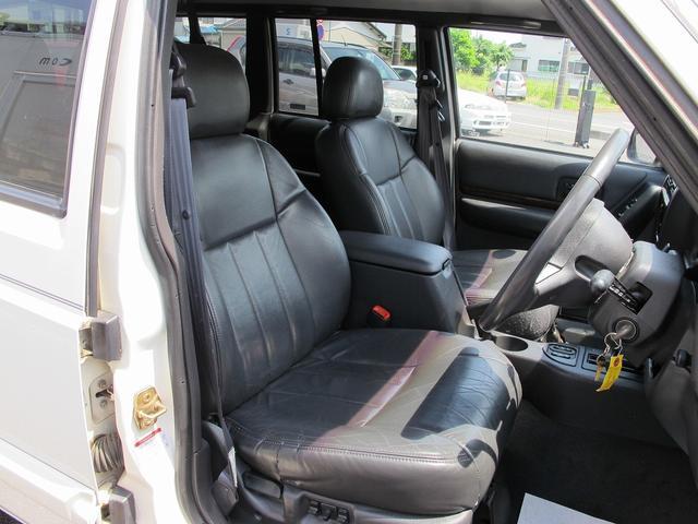 リミテッド 4WD天張り張替済み本革キーレスETCPWシート(9枚目)