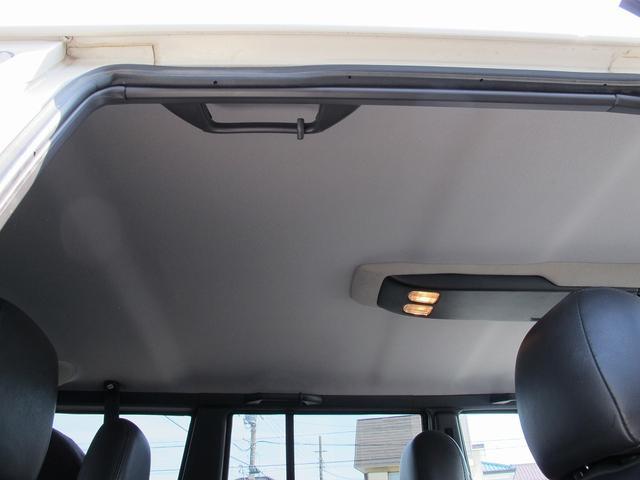 リミテッド 4WD天張り張替済み本革キーレスETCPWシート(11枚目)