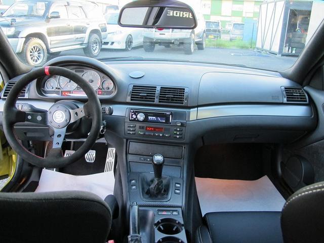 M3クーペ 純正6MT車高調マフラー鍛造3Dデザイン18AW(13枚目)