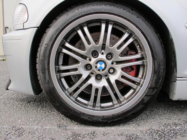 M3クーペ 純正6速MT減衰調整付車高調マフラーNEWタイヤ(19枚目)