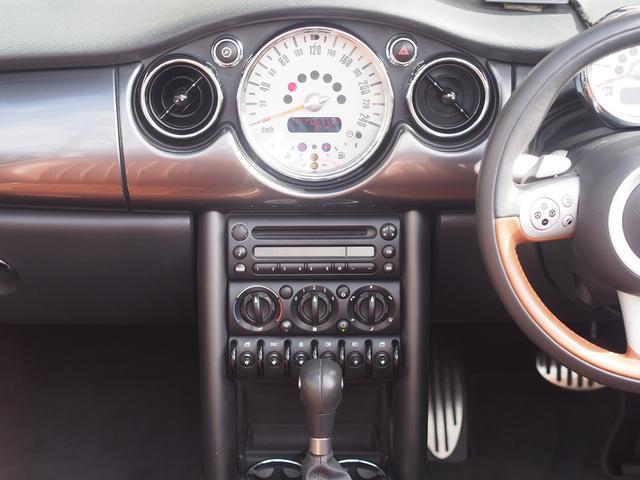 MINI MINI クーパーS コンバーチブル 限定車サイドウォーク ナビ