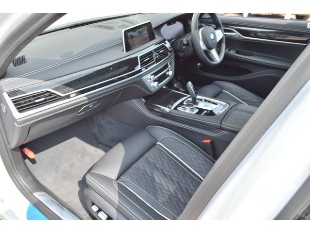 M760Li xDrive 正規認定中古車 スカイラウンジ エグゼクティブラウンジシート ダイヤモンドサウンド 前後マッサージ ナイトビジョン リアエンターテインメント シートヒーターエアコン レーザーライト ディスプレーキー(20枚目)