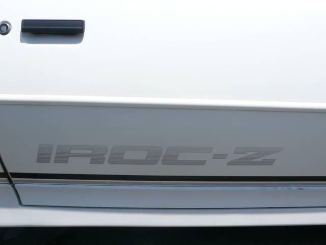 シボレー シボレー カマロ Z28 IROC-Z
