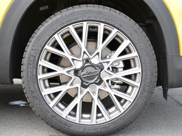 フィアット フィアット 500X イエロークロス 限定車 8型地デジナビ アダプティブクルーズ