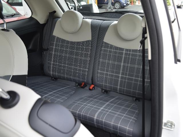 フィアット フィアット 500 ツインエア ポップ 登録済み未使用車 新車保証継承
