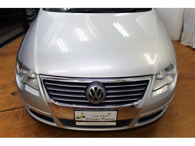フォルクスワーゲン VW パサートヴァリアント V6 4モーション ナビ 地デジ 黒革 パワーシート HID