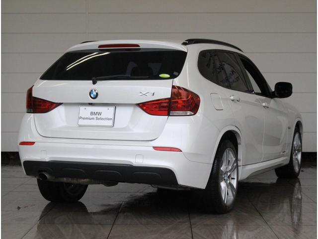 BMW BMW X1 sDrive 18i Mスポーツ ナビ 黒レザー 認定中古車