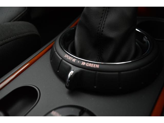 MINI MINI クーパーSD クロスオーバー オール4 ブラックレザーシート