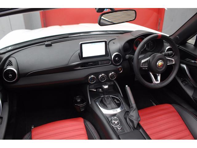 アバルト アバルト124 スパイダー レザーナビPKG BOSEサウンド ローンチED新車保証継承