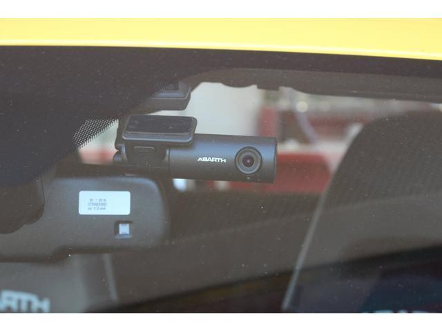 コンペティツィオーネ メーカー保証継承 右ハンドル ブラックSABELTシート ブレンボレッドキャリパー レコードモンツァマフラー パドルシフト ドライブレコーダー ETC付(10枚目)