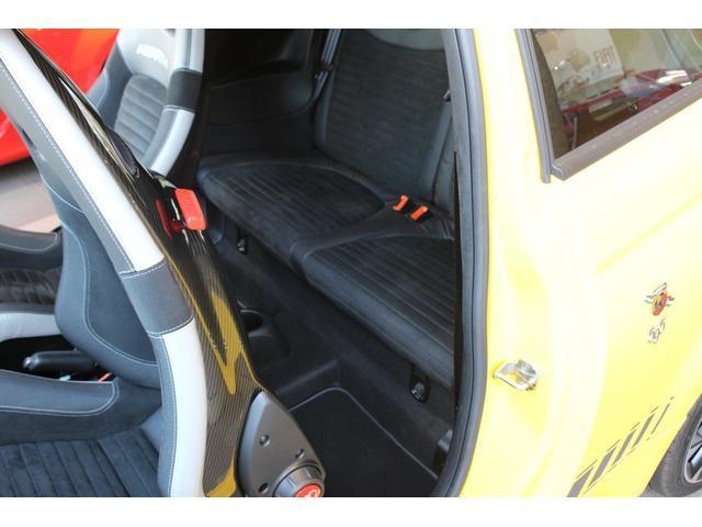 コンペティツィオーネ メーカー保証継承 右ハンドル ブラックSABELTシート ブレンボレッドキャリパー レコードモンツァマフラー パドルシフト ドライブレコーダー ETC付(15枚目)