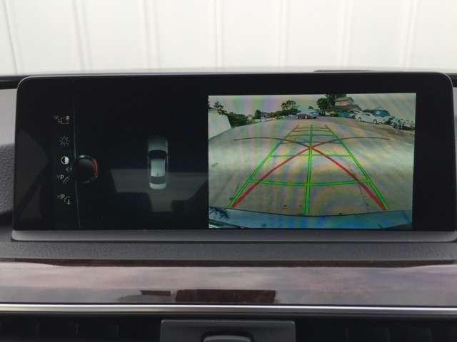 8.8インチから映し出されるバックカメラはとっても見やすいです!