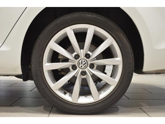 フォルクスワーゲン VW ゴルフヴァリアント TSIハイラインBMT 純正ナビ レザーPKG 認定中古車