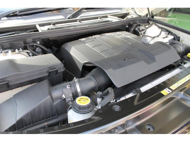 ランドローバー レンジローバーヴォーグ 5.0 V8 後期 ベージュ革 フルエアロ