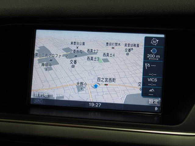 アウディ アウディ A4 2.0TFSI認定中古車ワンオーナーMMIナビ リアカメラ付