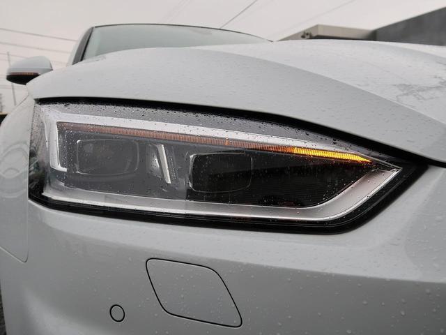 〈マトリクスLEDヘッドライト〉優れた配光可変性により対向車などを避け、自動で照射範囲の調節を行います