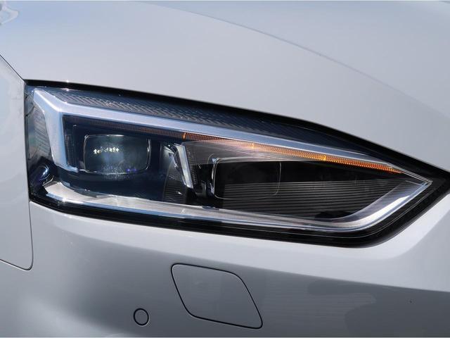 Audi車の象徴であるシングルフレームグリル。周囲に存在感を発揮します