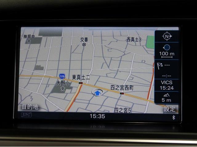 2.0TFSI 認定中古車 MMIナビゲーション シートヒーター パーシャルレザー キセノンヘッドライト ETC 左右独立エアコン バックカメラ 本革ハンドル 電動シート サンバイザー Bluetooth(3枚目)