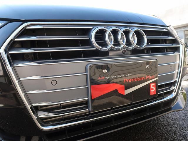 ●シングルフレームグリル『Audiの象徴のシングルフレームグリル。精悍な顔つきでさらに存在感のあるものに。』