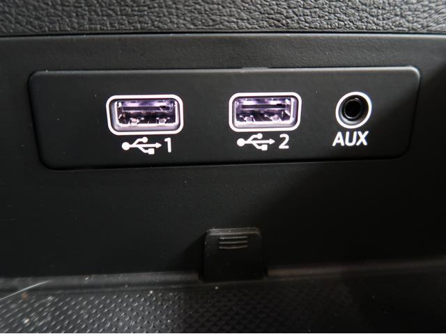 ●USB・AUX接続『ケーブルで音楽の再生機器を繋げば純正オーディオでお聴き頂けます。』