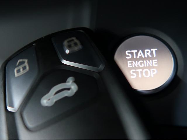〈アドバンストキーシステム〉キーを所持していればボタンひとつでエンジンを始動させることが可能です。