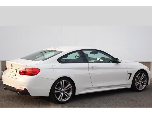 BMW BMW 435iクーペ Mスポーツ ワンオーナー 黒革 ACC
