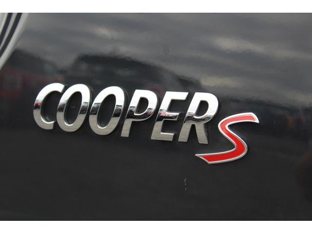 MINI MINI クーパーS 認定保証2年付 ペッパーPKG 純正HDDナビ