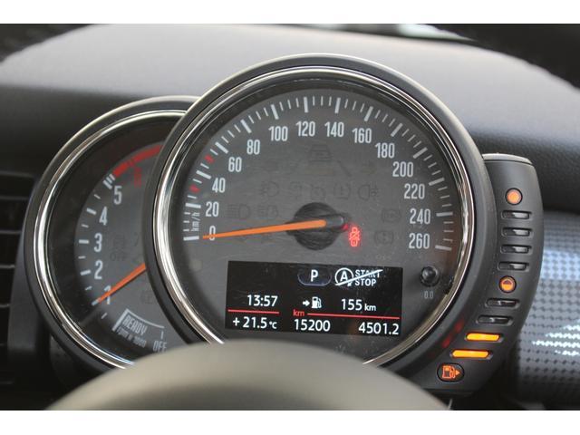 クーパーD 認定保証2年付・コンフォートA・純正HDDナビ・LEDヘッドライト・ETC・後付ユニオンジャックテールライト・6速AT・ブラックルーフ・純正15インチAW(14枚目)