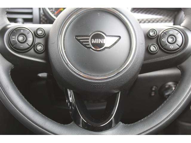クーパーS 認定保証2年付・コンフォートA・Dアシスト・ACC・純正HDDナビ・リアカメラ・前後障害物センサー・LED・ミラーETC・Fアームレスト・7速DCT・ブラックルーフ・純正17AW・社外車高調整式サス(18枚目)