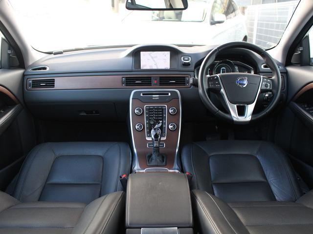 ボルボ ボルボ S80 T6 AWD社内使用 ポールスターPKG サンルーフ 黒革