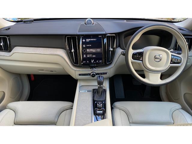 D4 AWD インスクリプション 2020年モデル レザーシート  前後シートヒーター ベンチレーション ステアリングヒーター サンルーフ ヘッドアップディスプレイ B&W ウッドパネル 前後パーキングセンサー(8枚目)