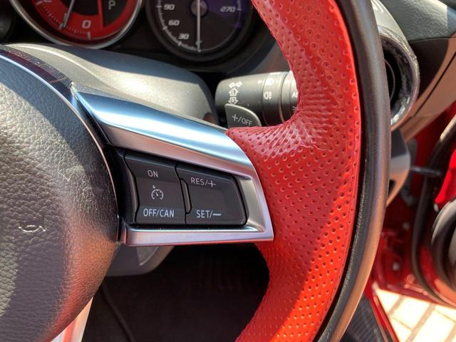ベースグレード レザーナビパッケージ/純正メモリナビ/バックカメラ/フルセグTV/ETC/レッドブラックコンビレザーシート/LEDヘッドライト/クルーズコントロール/オープントップ/シートヒーター(38枚目)