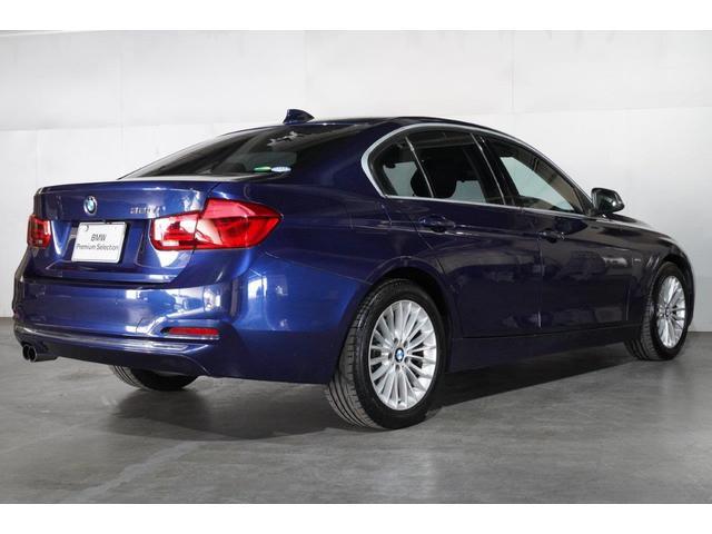 320iラグジュアリー BMW認定中古車 1年保証走行距離無制限 ブラックレザー シートヒーター バックカメラ 衝突軽減 ウッドトリム スマートキー(9枚目)