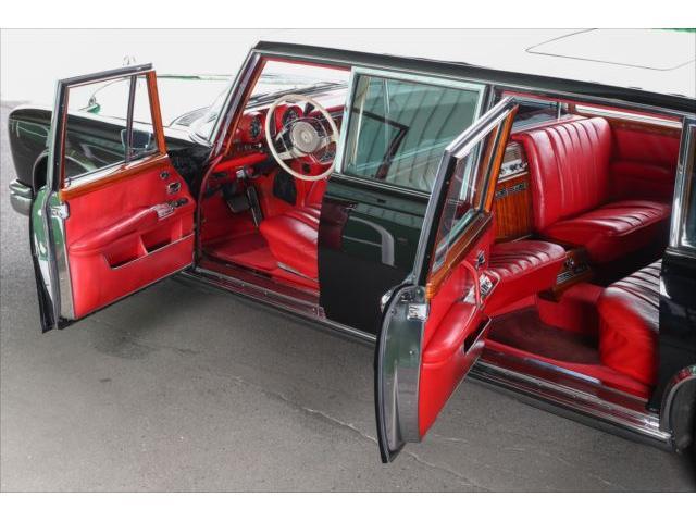 メルセデス・ベンツ M・ベンツ W100 600プルマン フルオリジナル 純正エアサス