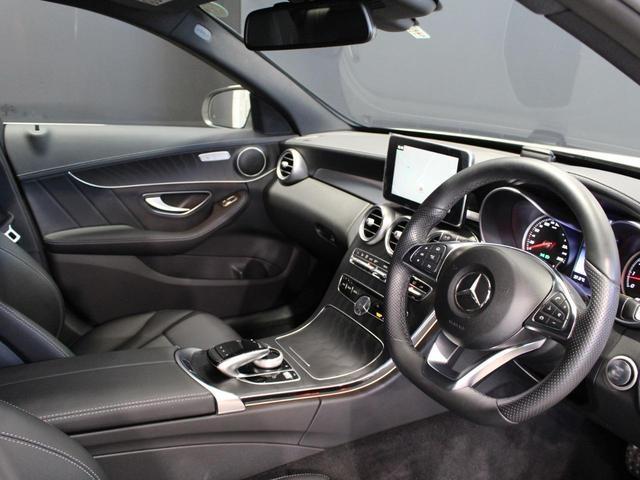 C180アバンギャルド AMGライン 認定中古車 レーダーセーフティパッケージ ベーシックパッケージ 前席シートヒーター レザーARTICOシート ポーラーホワイト(17枚目)