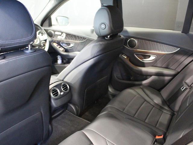 C180アバンギャルド AMGライン 認定中古車 レーダーセーフティパッケージ ベーシックパッケージ 前席シートヒーター レザーARTICOシート ポーラーホワイト(18枚目)